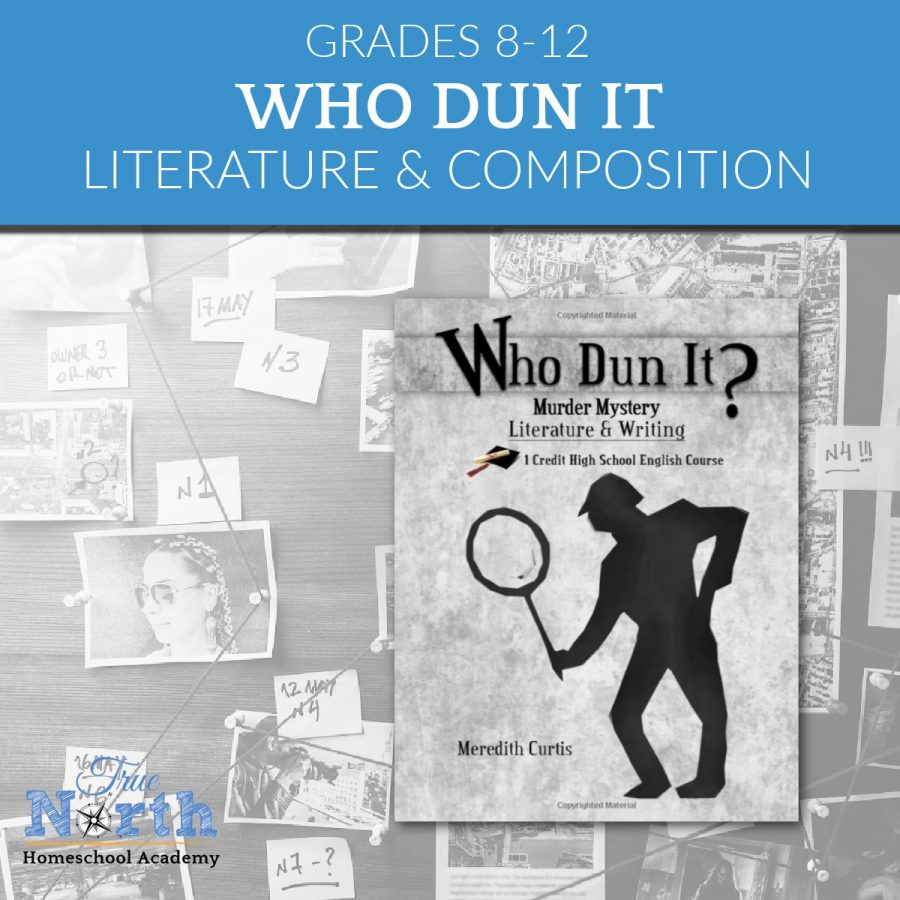 TNHA Literature and composition class Mystery Writing for high school