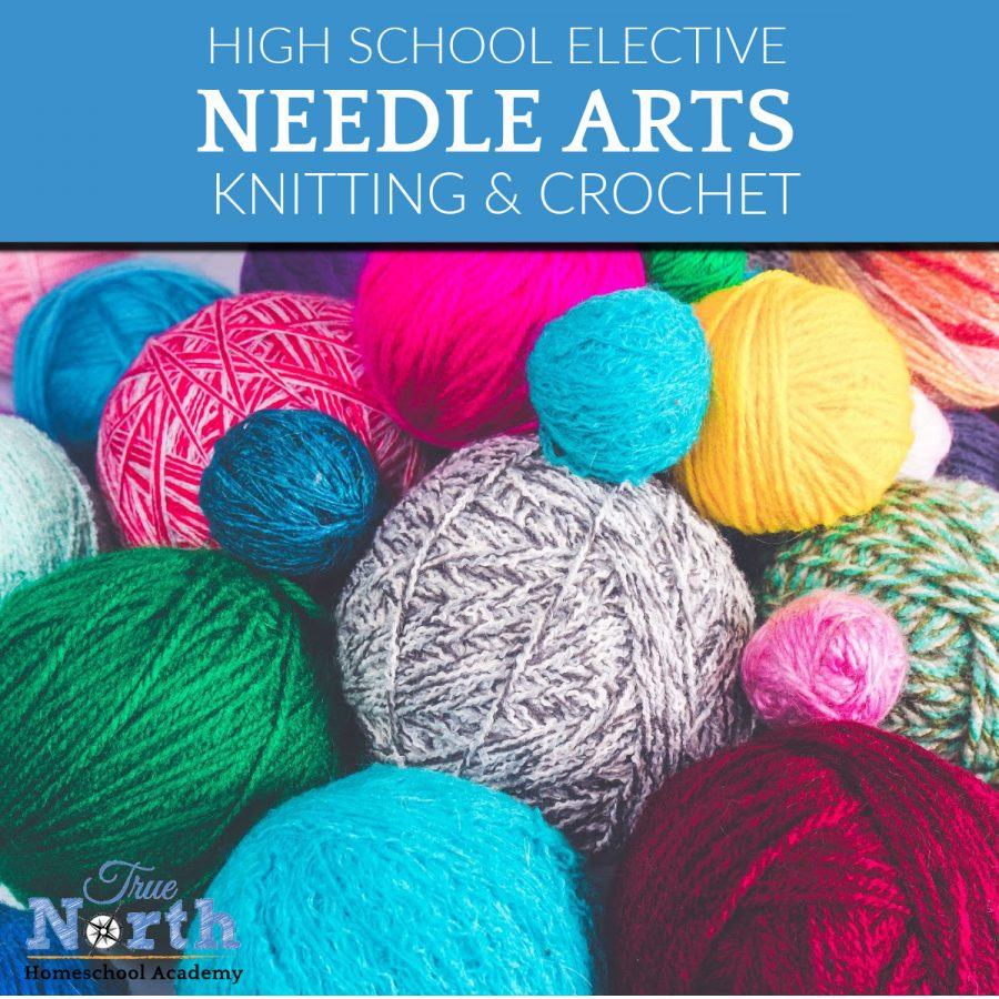TNHA Online needle arts class in knitting and crochet