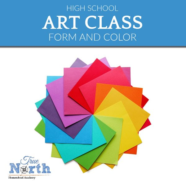 TNHA Product Image Art Class Form & Color High School online class