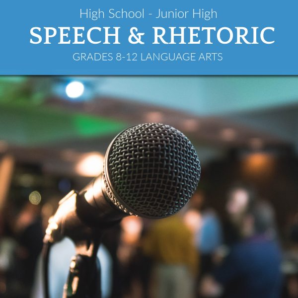 TNHA Product Image Junior high and high school speech and rhetoric class online