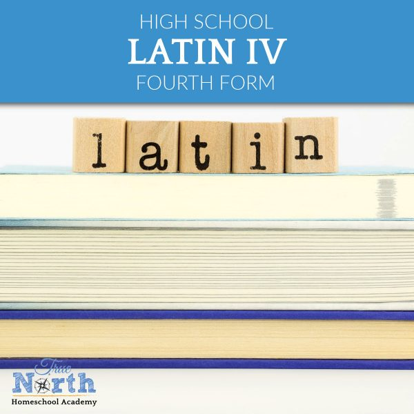 TNHA Product Image Latin 4 high school online homeschool course for learning latin
