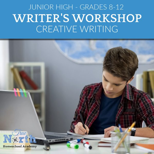 TNHA online class for grades 8-12 creative writing and language arts copy