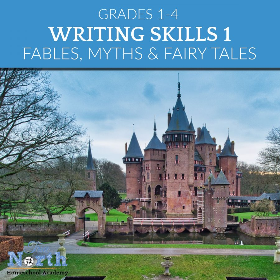 TNHA online class writing skills 1 for elementary school IEW Fable Myths & Fairy Tales Writing Class online