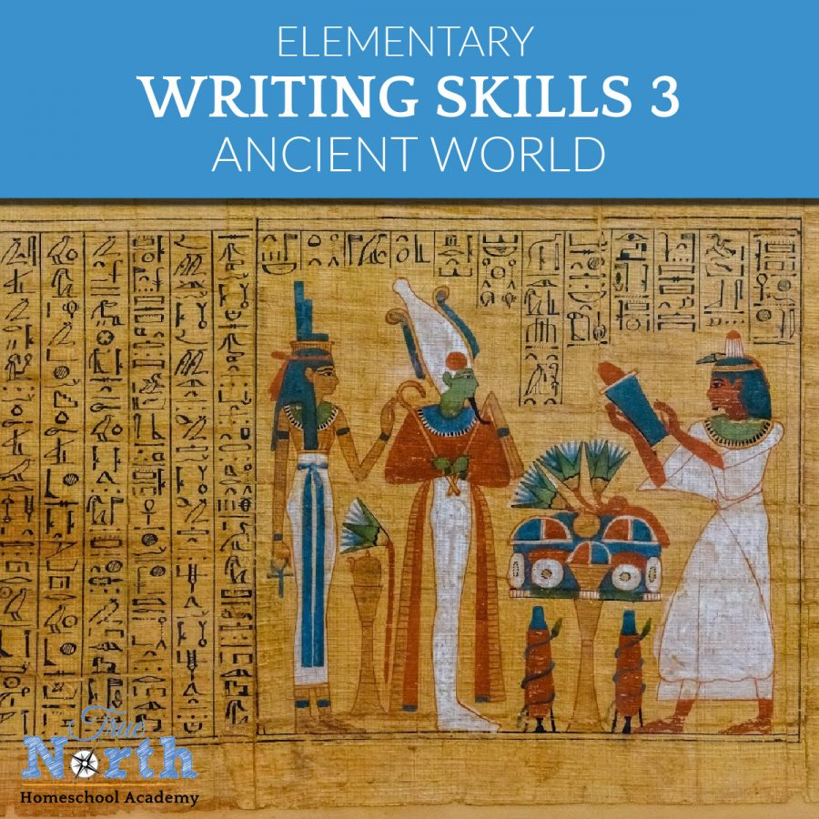 TNHA online class writing skills 3 for elementary IEW