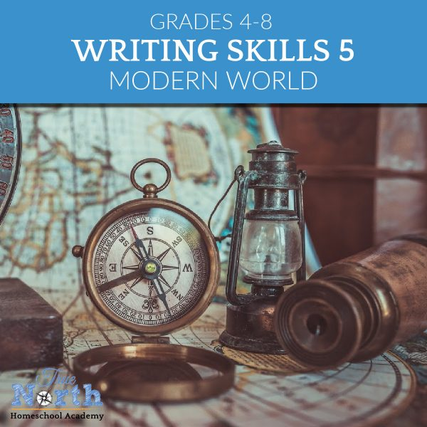 TNHA online class writing skills 5 for middles school IEW Modern World